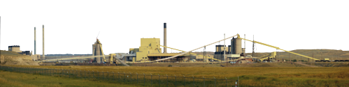 Power Plant Coal Fired Wyoming