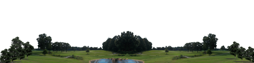 Golf Course With Water Continuous