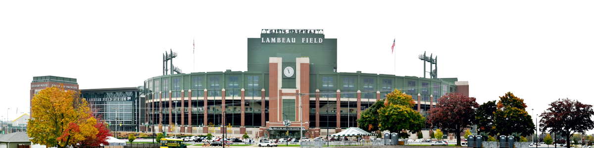 Lambeau Field In Autumn