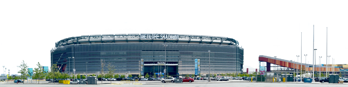 Metlife Stadium Complex From The West