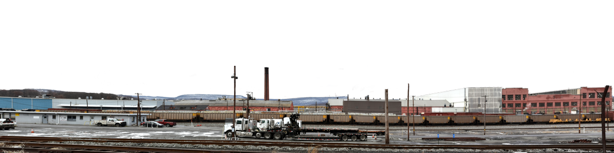 Railroad Shops And Freight Yard Altoona