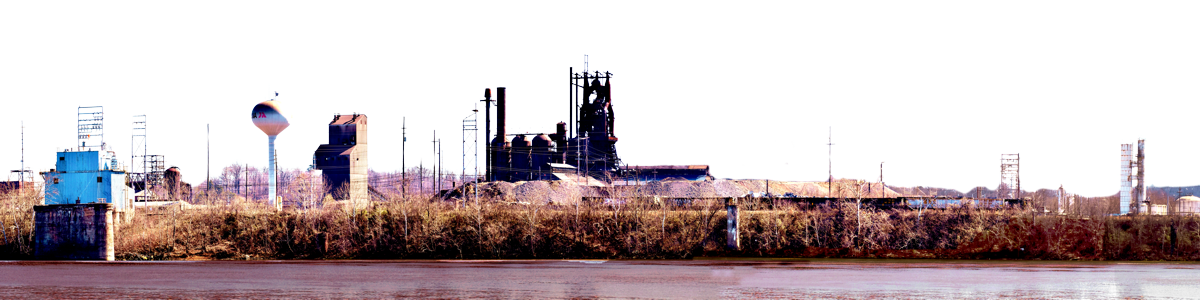 Steel Mill Ashland With River Right Part 2