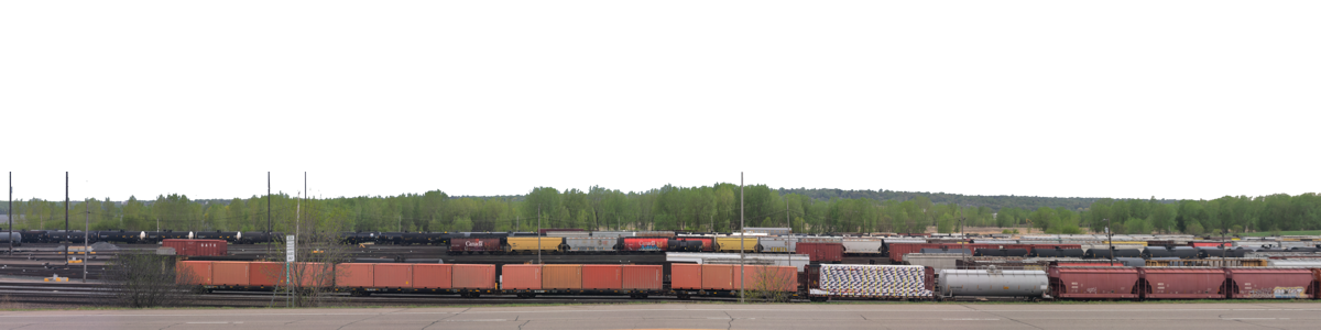 Freight Yard Saint Paul With Road