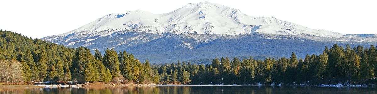 Mount Shasta From Lake