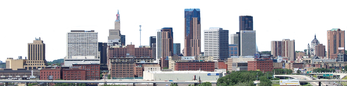 Saint Paul Minnesota Skyline